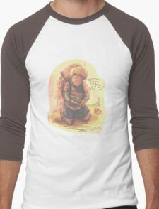 Encounter with Save Frog Men's Baseball ¾ T-Shirt
