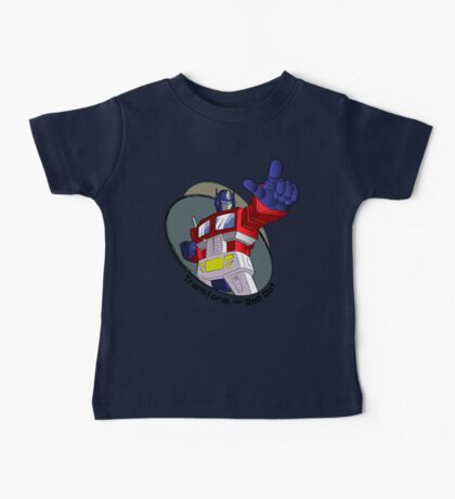 Optimus Prime - Transform and Roll Out Baby Tee