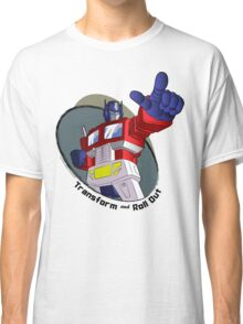 Optimus Prime - Transform and Roll Out Classic T-Shirt