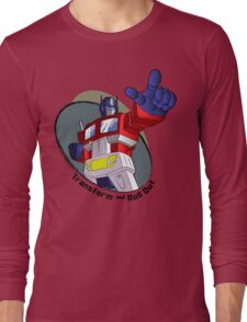 Optimus Prime - Transform and Roll Out Long Sleeve T-Shirt