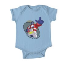 Optimus Prime - Transform and Roll Out One Piece - Short Sleeve
