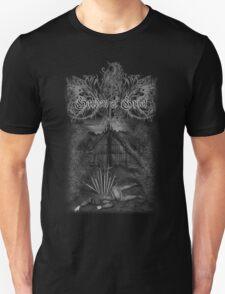 GoG shirt: Denied Sanctuary (cover artwork+logo) Unisex T-Shirt