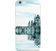Whitby Abbey (Toned) iPhone Case/Skin