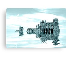 Whitby Abbey (Toned) Canvas Print