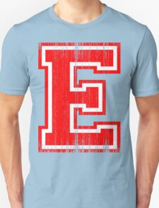 Big Red Letter E T-Shirt