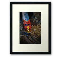 Toy Train III ~ Miniatures Series  Framed Print