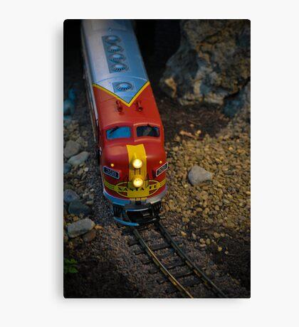 Toy Train III ~ Miniatures Series  Canvas Print