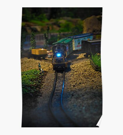 Toy Train IV ~ Miniatures Series  Poster