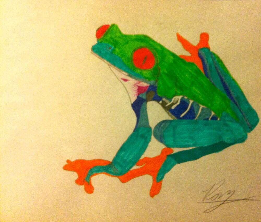 Frogger by Raymond Park
