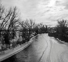Winter River by Jake Kauffman