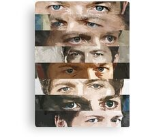 Eyes of an angel Canvas Print
