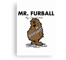 Mr Furball Canvas Print