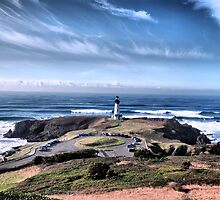Yaquina Head Lighthouse by Chris Donner