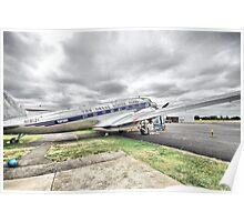 Vintage Jet Poster
