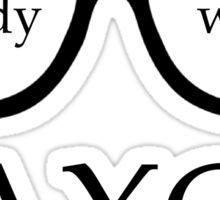Study with AXO Sticker