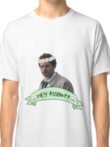 Hey Assbutt (Hipster Castiel) Classic T-Shirt