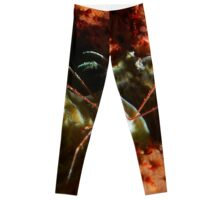 Arrow Crab at Night Leggings