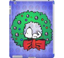 snoopy wreath iPad Case/Skin