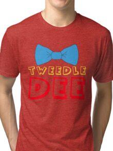 Tweedle Dee Tri-blend T-Shirt