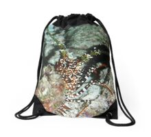 Spotted Spiny Lobster Drawstring Bag