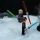 Snow battle by Mark Dobson