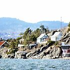 Homes on the fjord by missmoneypenny