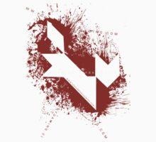 =FOX= Company Case - Logo Splatters Kids Tee