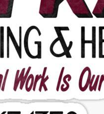 Oh-Kay Plumbing Sticker