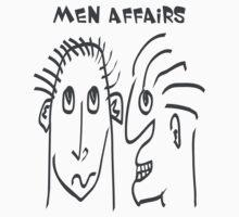 Men Affairs - mate, friends, funny,  men talking by fuxart