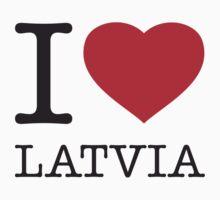 I ♥ LATVIA Kids Clothes