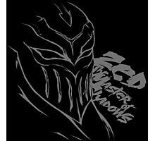 Zed The Master of Shadows   League of Legends Photographic Print