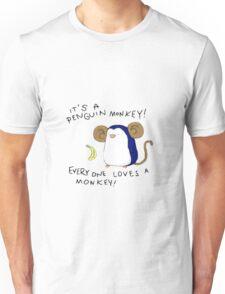Penguin Monkey Unisex T-Shirt