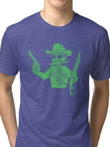 Fallout  - Cowboy Perk Tri-blend T-Shirt