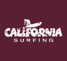 California Surfing Patina White by theshirtshops
