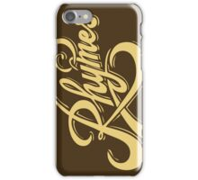 Rhymes Second Version  iPhone Case/Skin