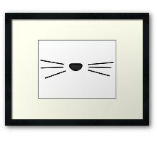 Cat Whisker Design / Danisnotonfire / AmazingPhil Framed Print