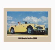 Classic British car convertible Austin Healey 3000 Kids Tee
