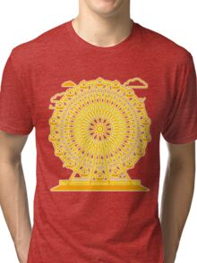 Ferris_Wheel Tri-blend T-Shirt