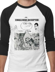 The Troll Crew Men's Baseball ¾ T-Shirt