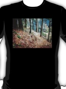 Hiking Trail Through The Woods T-Shirt