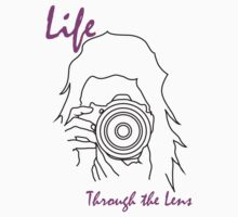 Life through the lens Kids Tee