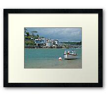 Across Salcombe estuary Framed Print
