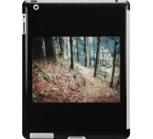 Hiking Trail Through The Woods iPad Case/Skin