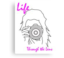 Life through the lens Canvas Print