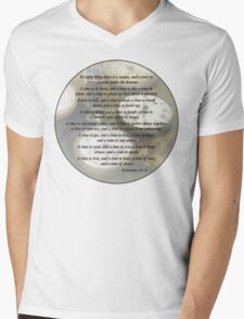 Ecc 3 1–8 To every thing there is a season Mens V-Neck T-Shirt