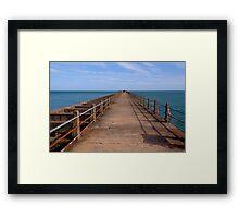 Newhaven Pier Framed Print