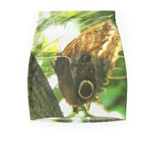 Mournful Owl Butterfly Mini Skirt