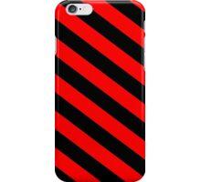Black/Red Striped Phone Case iPhone Case/Skin