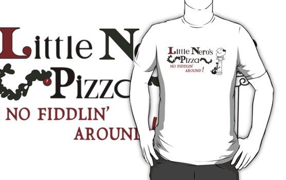 Little Nero's Pizza by ironsightdesign