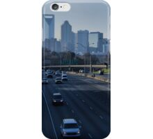 Charlotte Skyline - I-77 iPhone Case/Skin
